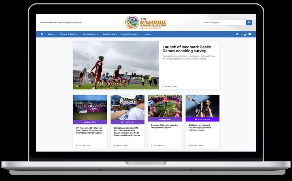Camogie Association New Website