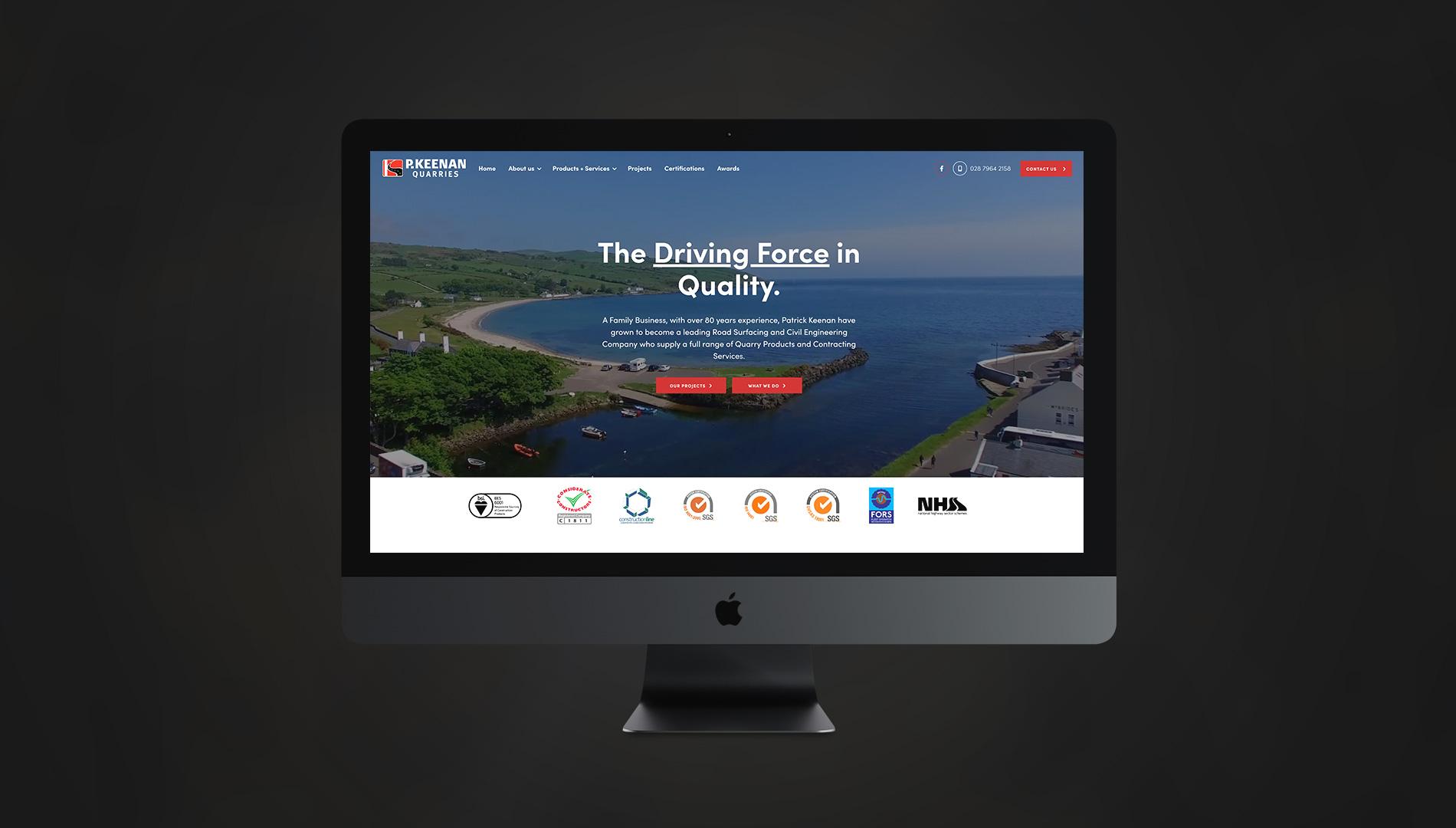 P. Keenan Quarries Website 2020