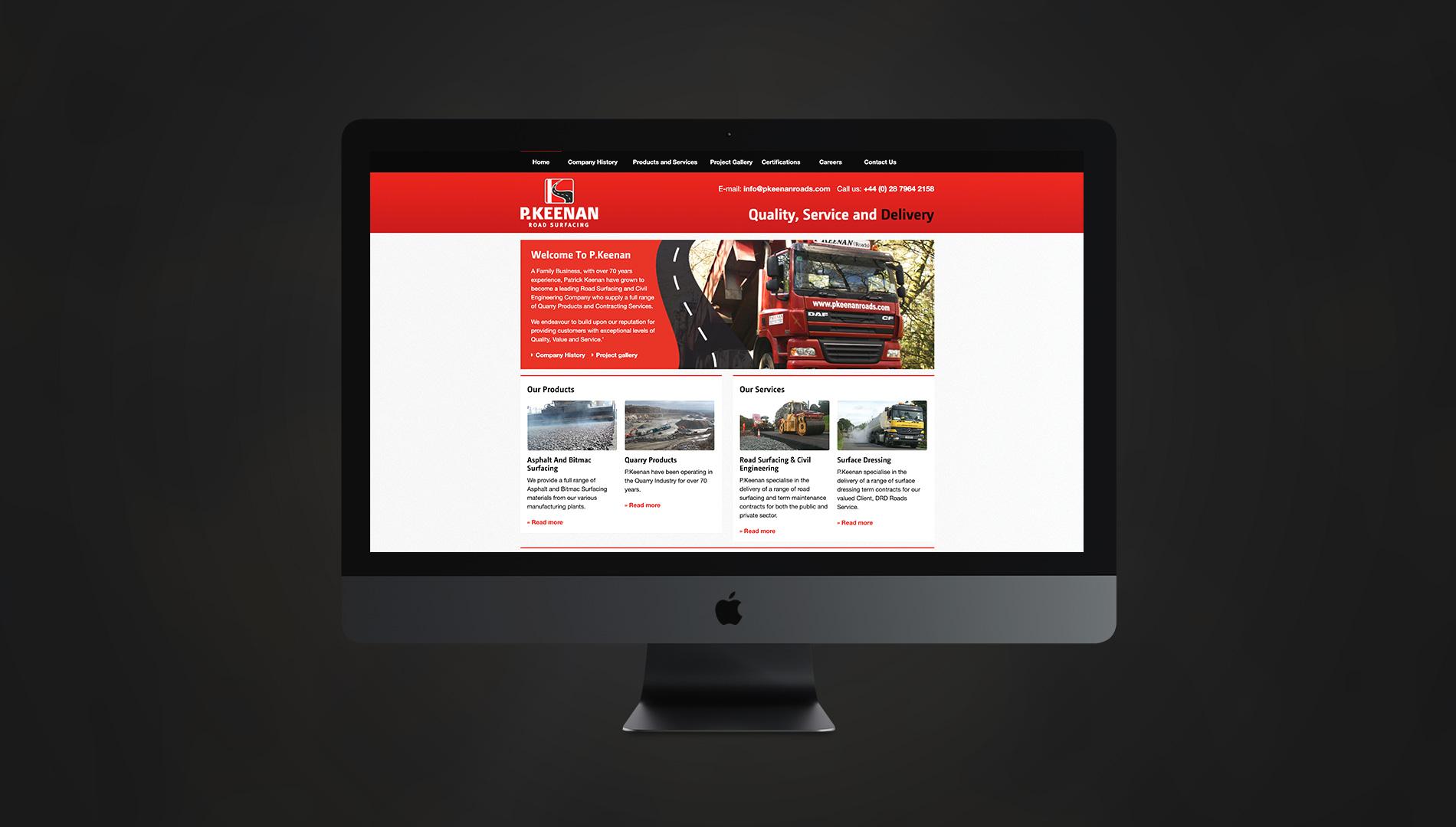 P. Keenan Roads Website 2013