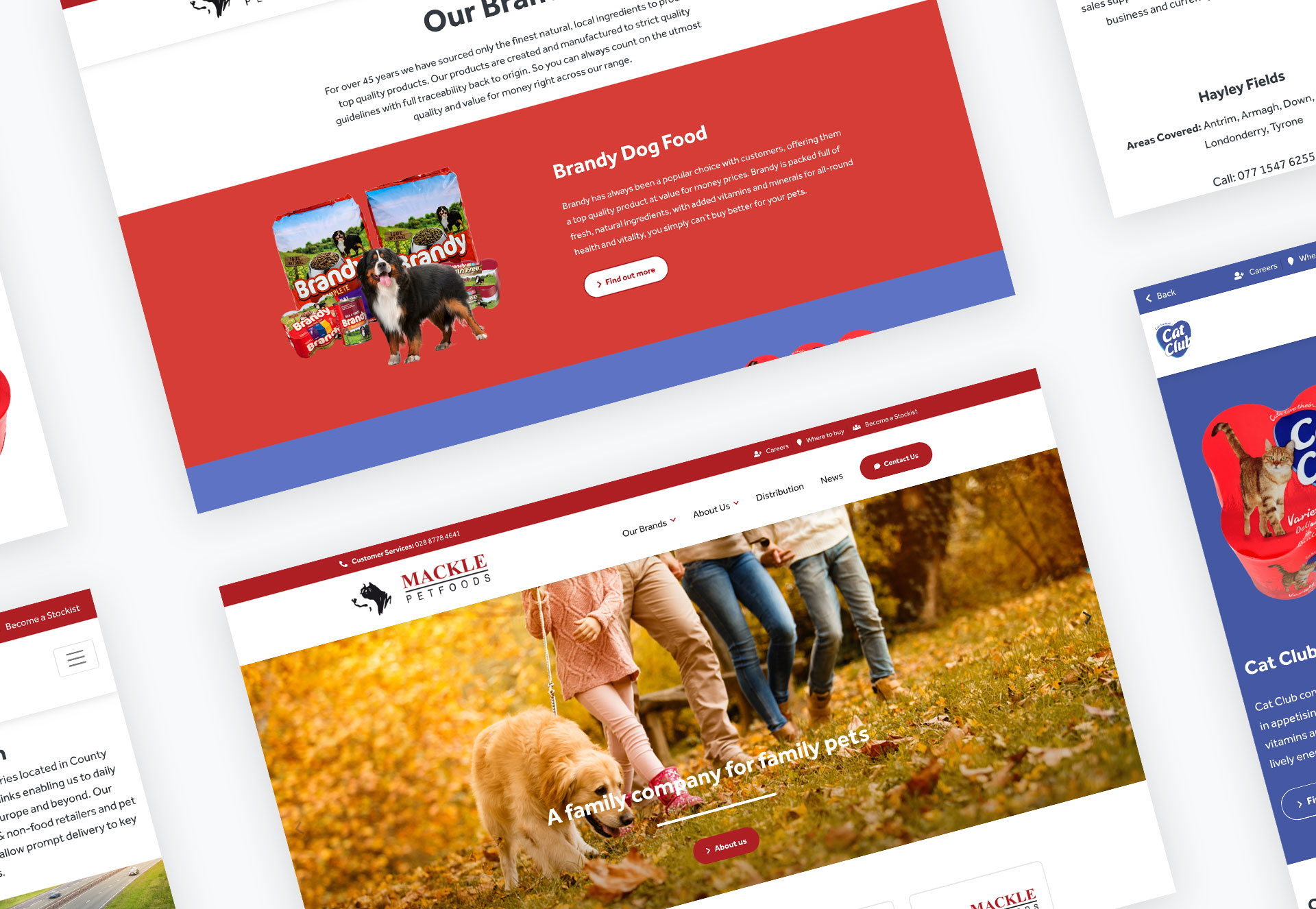 Mackle Petfoods Responsive Website